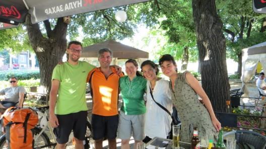 von links: Ramon, Mete, Dagmar, Maria, Ivelina