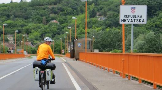 an der kroatischen Grenze