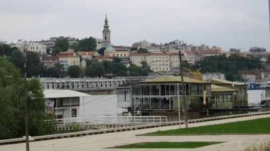 Ankunft in Belgrad