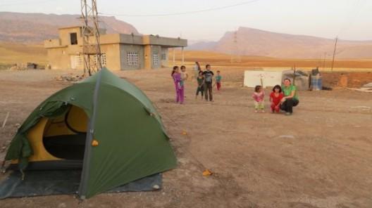Camp beim Peschmerga