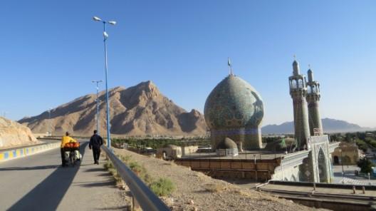 Wir verlassen Shahreza