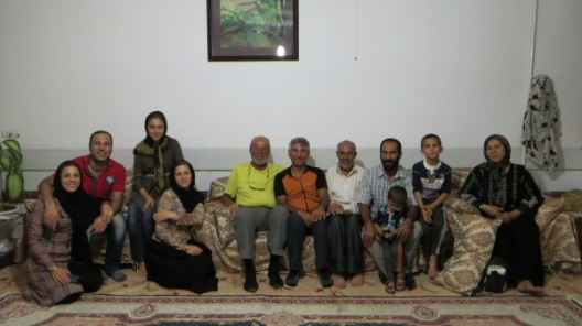 Mit Mohamads Familie am Abend