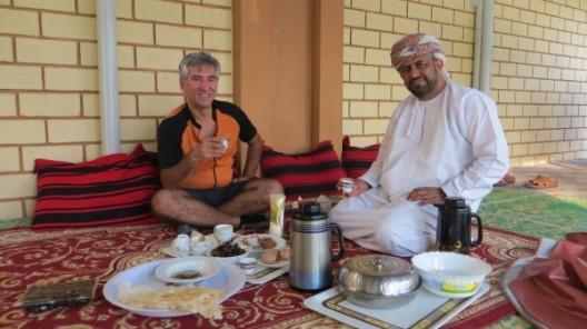 Frühstück mit Husein