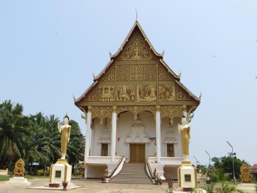 Buddhistischer Tempel in Vientiane
