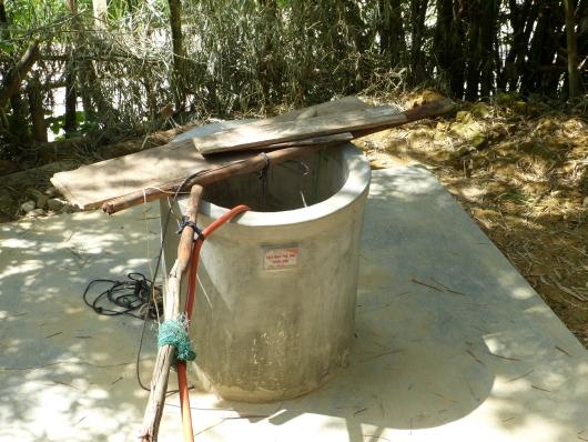 Von World Vision errichteter Brunnen für Familien die sonst keinen Zugang zu Wasser hätten.