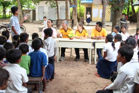 zu Besuch in der zweiten Grundschule