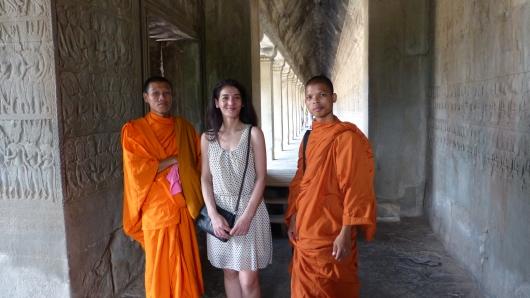 in Angkor Wat