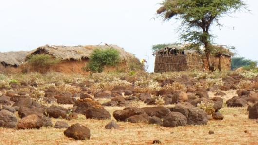 Massai-Behausung