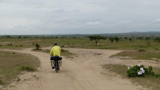 Wir verlassen die Hauptstrasse und fahren in das Massai-Land hinein