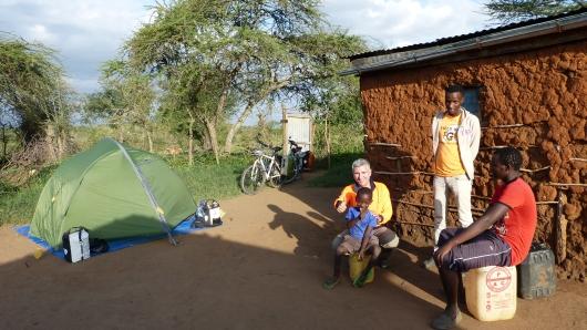 Camp bei Thomas und seiner Familie