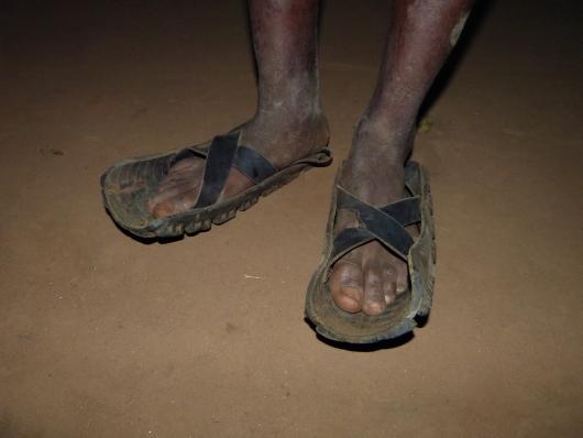 Massai-Schuhwerk