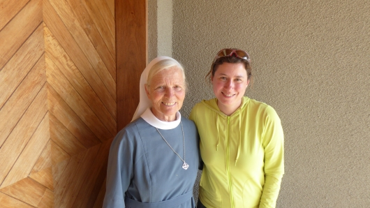 Schwester Marie Carmen aus Südtirol lebt seit 35 Jahren in der Mission in Mitundu. Schöne Grüße von ihr nach Südtirol und Deutschland