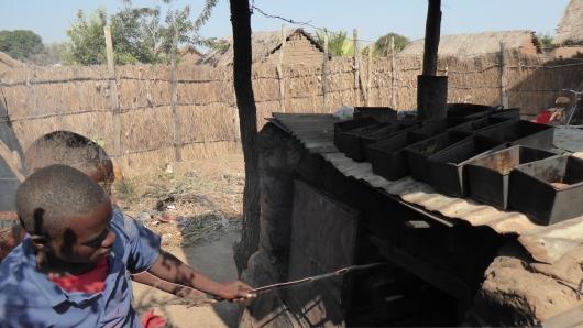 Die Dorfbäckerei von Rungwa