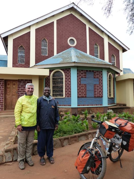 mit Pastor Andrew