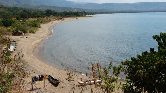 am Malawi-See