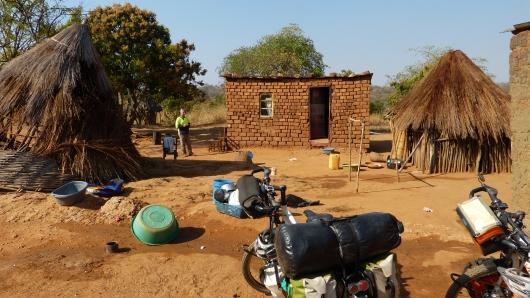 Das Haus des Pfarrers in dessen Dorfkirche wir übernachteten