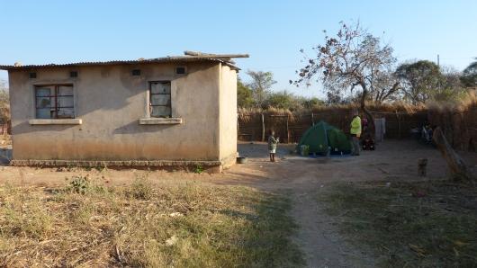 Camp bei einer Familie