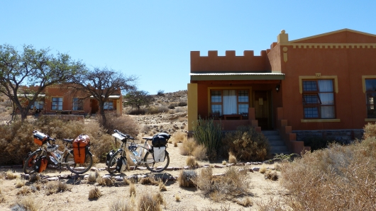 Vielen Dank an die Gondwana Group für die Übernachtung in Klein-aus Vista