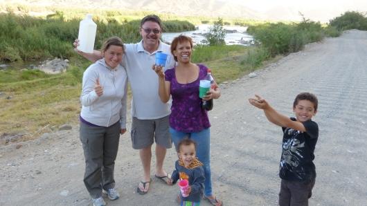 Ausflug mit Willy, Susan, Henri und Suwe zum Orange River