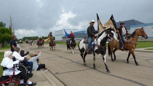 Parade in Castor