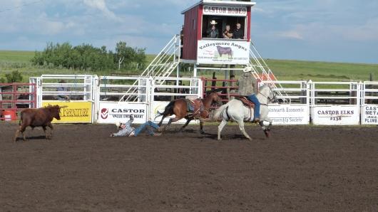 Rodeo in Castor