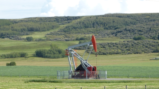 Öl-Bohrung