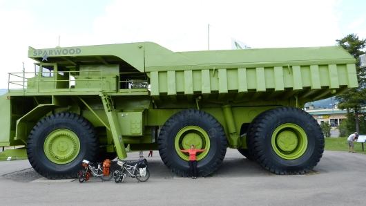 der größte Truck der Welt