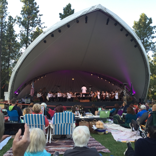 Open Air Konzert in Spokane