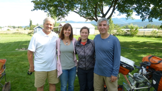 bei Barry und Jenny in Otis Orchard im Spokane Valley