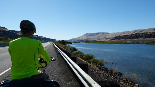 am Columbia River