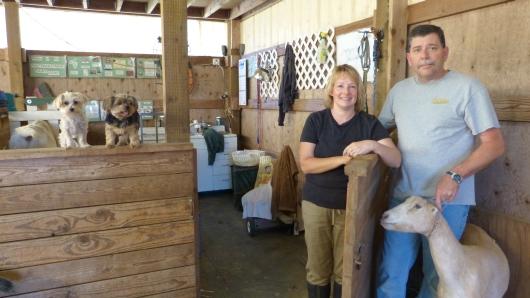 auf der Farm mit Jennifer und Rob bei Shedd