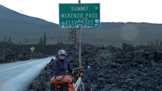 am McKenzie Pass