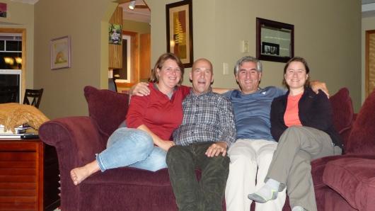 mit Michelle und Karl in Bend