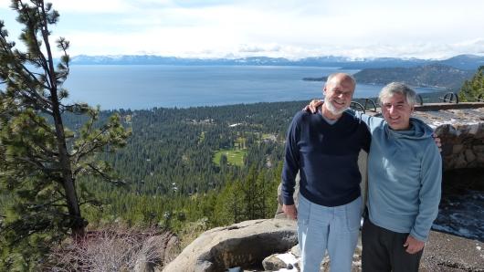 Wiedersehen mit Hans, Ausflug zum Lake Tahoe