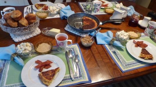 Lois verwöhnt uns mit ihren Kochkünsten