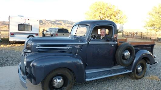 bei Farmer Bill und seiner Frau Joan übernachteten wir im Wohnwagen