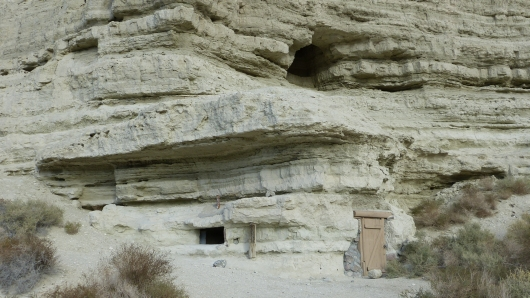 Höhlenwohnung bei Shoshone