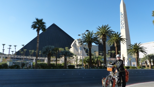 Ankunft in Las Vegas